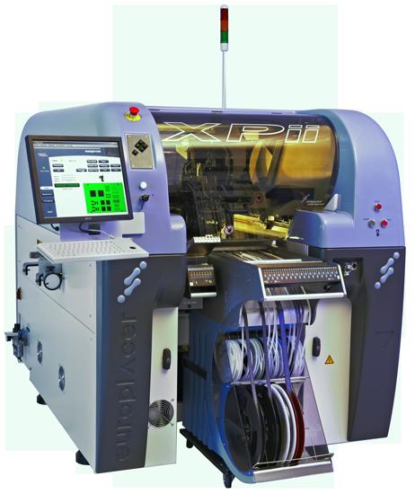 Автоматический установщик компонентов поверхностного монтажа Europlacer XPii